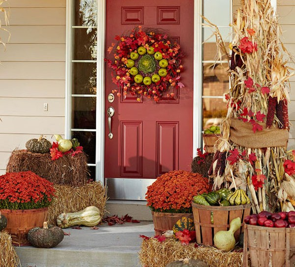 Autumn entry. (Photo: Better Homes and Gardens)