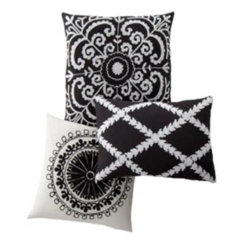 Toss pillows. (Photo: Neiman Marcus)