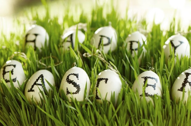 Happy Easter (Photo: Pottery Barn)
