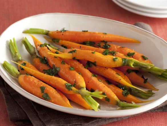 Honey-Glazed Carrots. (Photo: Food Network)