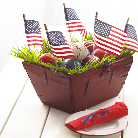 All-American centerpiece. (Photo: Better Homes and Gardens)