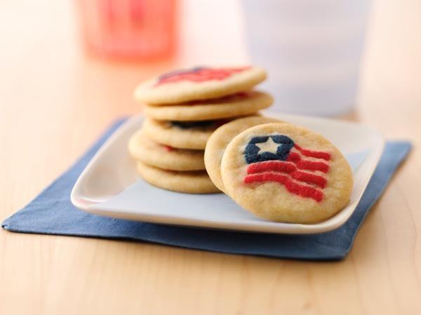 Flag Shape Cookies. (Photo: Pillsbury)