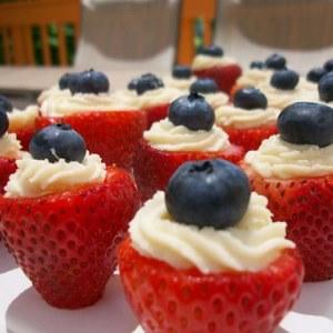 Stuffed Strawberries. (Photo: Gina Marie's Kitchen)