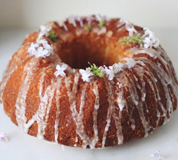 Lemon and Lilac Cake