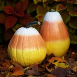 Candy Corn Pumpkins. (Photo:Better Homes and Gardens)