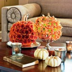 Flowered Pumpkins. (Photo: Helen Norman/Southern Living)