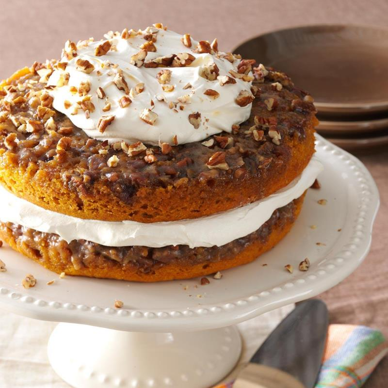 Praline Pumpkin Torte (Photo: Taste of Home)
