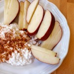 Apple Chips and Cottage Cheese Dip (Photo: Trainer Momma)
