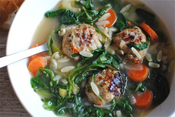 Weeknight Italian Wedding Soup (Photo: Bev Cooks)