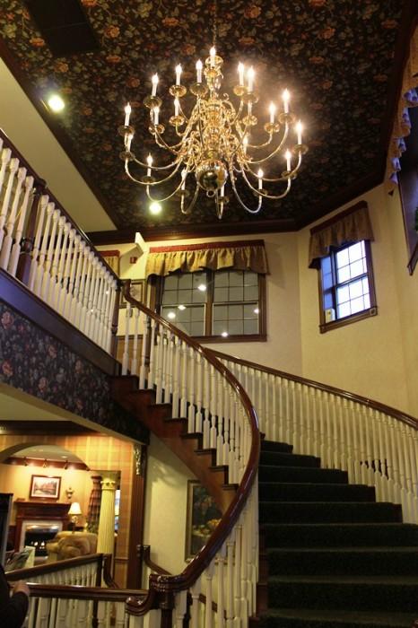 Carlisle Inn staircase
