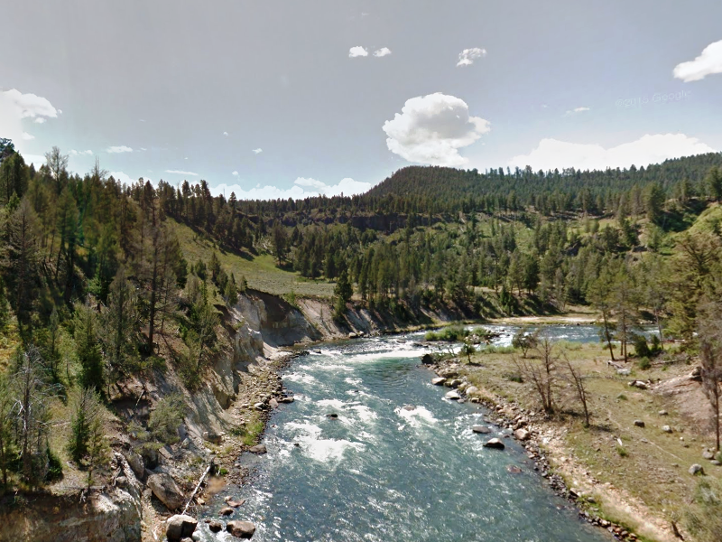 Winding its way through the park, the Yellowstone River is as wild as the wildlife.