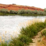 Wedding of the Waters, where the Wind River changes names and becomes the Big Horn River. (Photo: Thermopolis, WY)