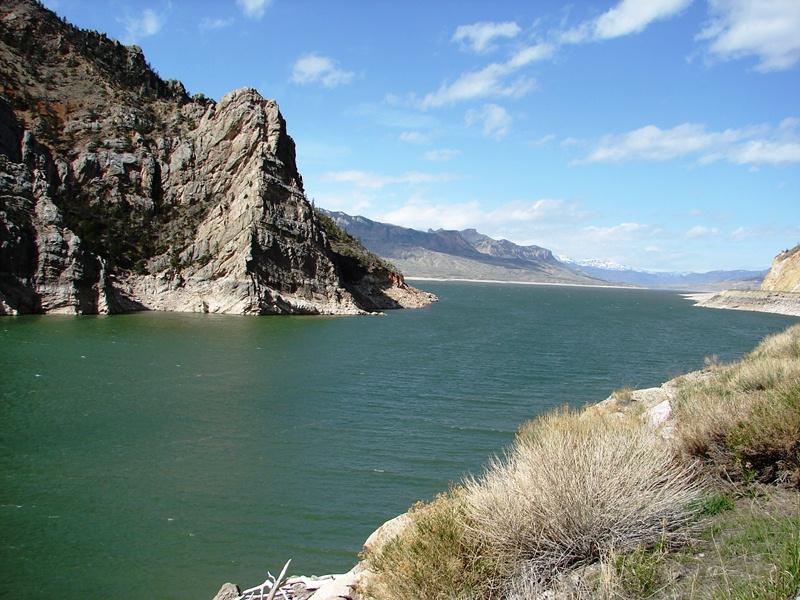 Buffalo Bill Reservoir.