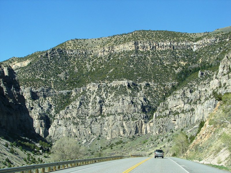 Wind River Scenic Byway (US 20).