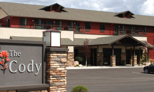 The Cody Hotel's front entrance. (Photo: The Cody Hotel)