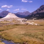 Soda Butte, an extinct geyser near the mouth of Soda Butte Creek. (Photo: National Park Service)