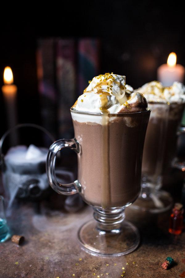 Pumpkin Butterbeer Hot Chocolate