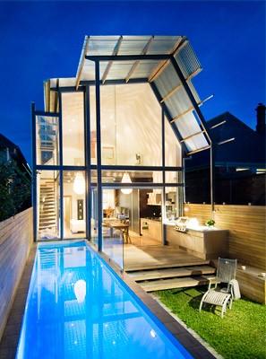 Brammy Kyprianou house pool.