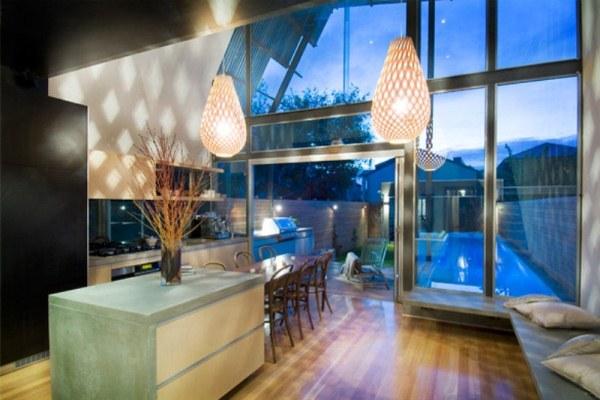 Brammy Kyprianou house kitchen.