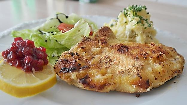 Chicken Parmazip dinner