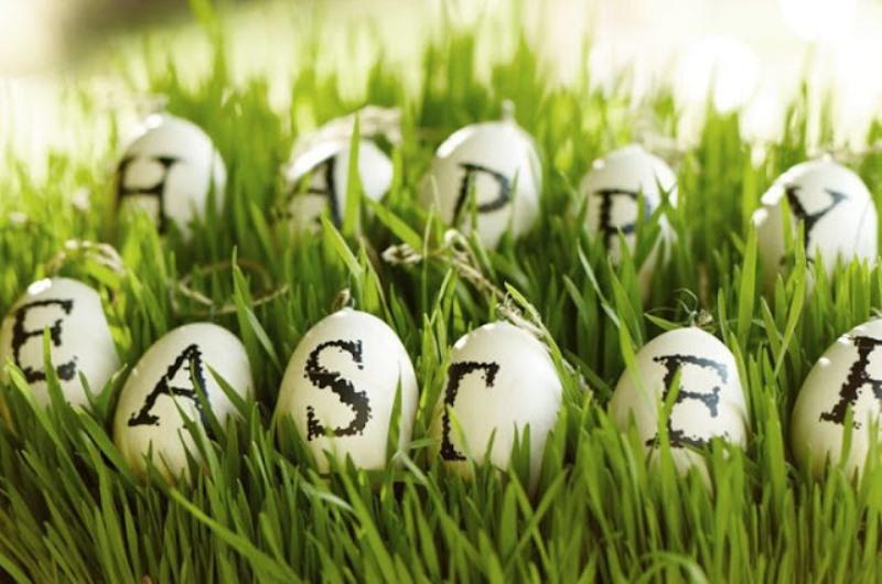 Happy Easter (Photo: Pottery Barn)