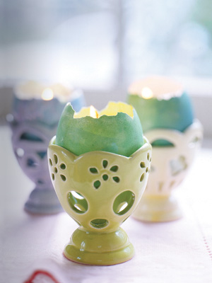 Egg candles.