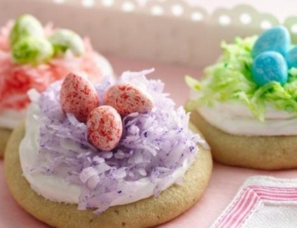 Easter Nest Cookies. (Photo: Pillsbury)