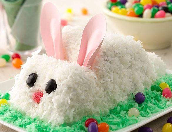 Easter Bunny Cake. (Photo: Betty Crocker)
