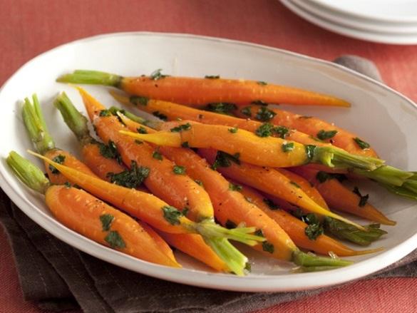 Honey-Glazed Carrots. (Photo: Food Network)