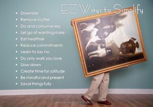 EZ ways to simplify