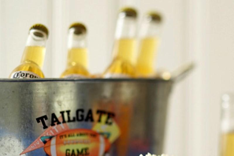 Galvanized tin for beer. (Photo: Celebrations)
