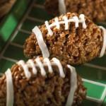 Chocolate Nutty Mini Football Treats (Photo: Rice Krispies)