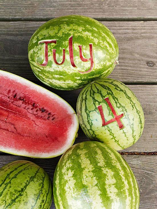 July 4 watermelon (Photo: Better Homes and Gardens)