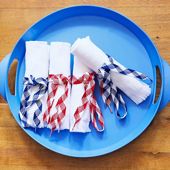 Oversized napkins (Photo: Better Homes and Gardens)