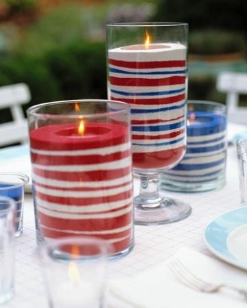 Votive candles. (Photo: Martha Stewart)