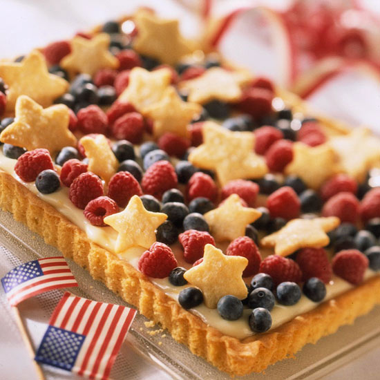 Fourth of July Fruit Tart. (Photo: Better Homes and Gardens)