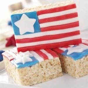 4th of July Fabulous Flag Treats. (Photo: Class Brain)