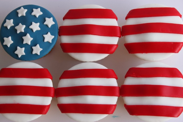 Independence Day Cupcakes. (Photo: Diary of a Ladybird)