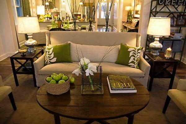 HGTV 2008 Green Home living room