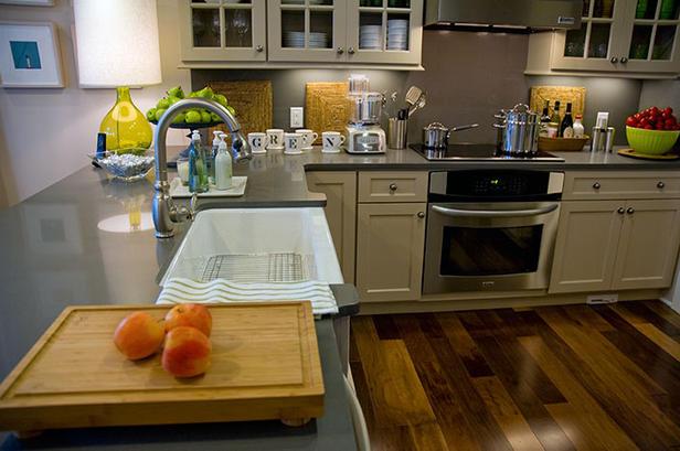 HGTV 2008 Green Home kitchen