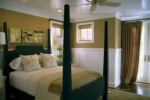 HGTV 2008 Green Home master bedroom
