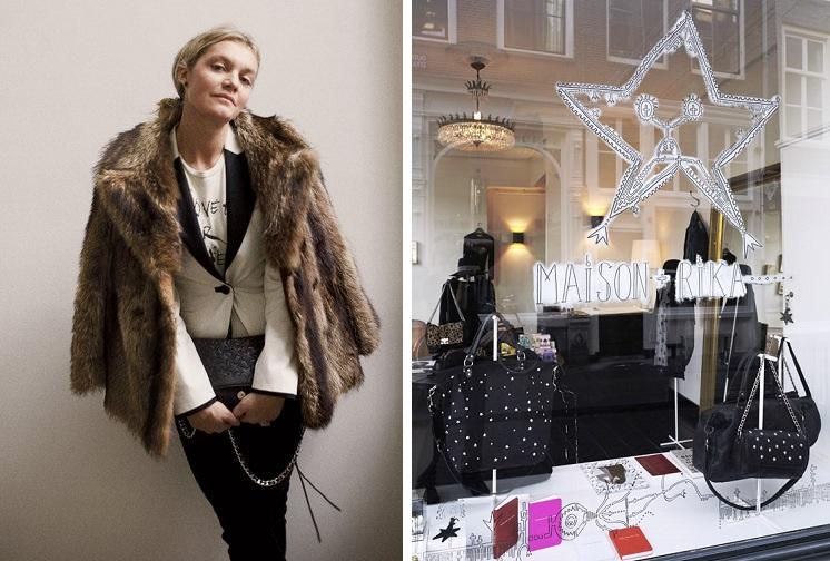 Swedish fashion designer, Ulrika Lundgren, and her boutique hotel, Maison Rika.