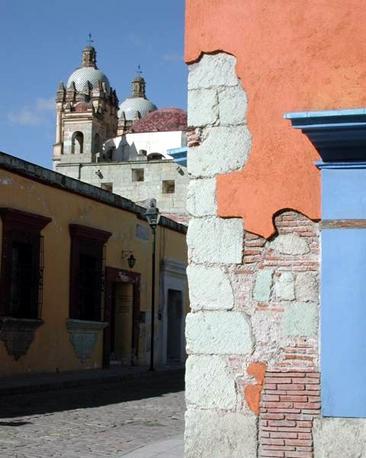 Street corner near Santo Domingo