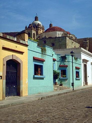 Street in Oaxaca
