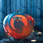 Night Owl Pumpkin. (Photo: Martha Stewart)
