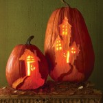 Haunted House Pumpkins. (Photo: Martha Stewart)