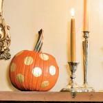 Painted Circle Pumpkin. (Photo: Helen Norman/Southern Living)