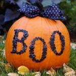 Boo-tiful Button Pumpkin. (Photo: Better Homes and Gardens)