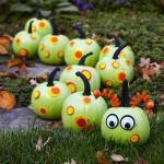 Caterpillar Painted Pumpkin. (Photo: Better Homes and Gardens)