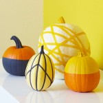 Masking Tape Pumpkins (Photo: Better Homes and Gardens)